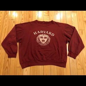 Vintage 80's Harvard Sweater men's Xl fit